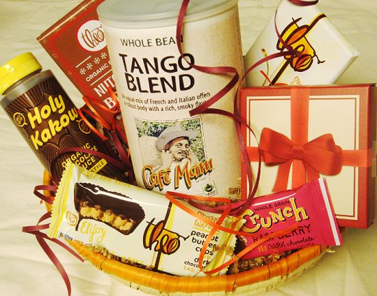 Fair trade organic coffee chocolate gift basket vegan fair trade fair trade organic coffee chocolate gift basket negle Gallery