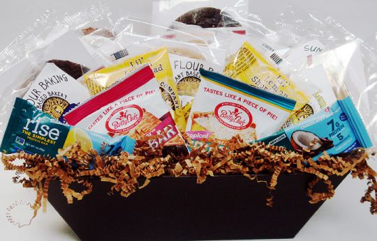 Vegan Cookie Sampler Gift Box Fair Trade Organic Gifts Garuda International