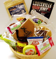 Vegan Gourmet Snack Sampler Basket